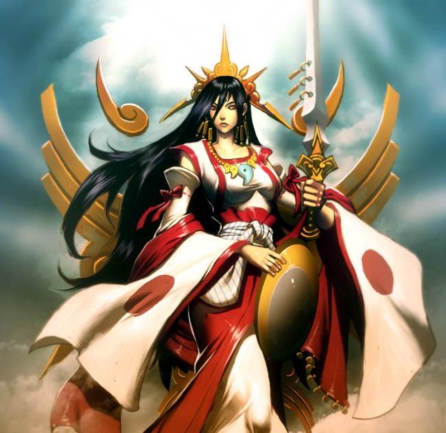 mitología,cultura,historia,japón,viajes,leyendas,paisajes,gentes,tradiciones,tazas,anime,series,manga,cups,tazones,friki,otaku,mitos,amaterasu,diosa,sol,deidad,japonesa