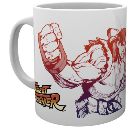 tazas anime,tazas de videojuegos,tazas de desayuno,tazas street fighter,